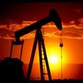 Horsehead Pump against setting sun