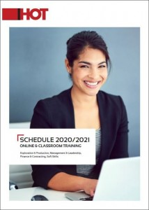 Cover page of 2020/2021 Public Course Schedule