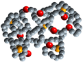 A Polymer Molecule. Course PRO15 - EOR Polymer Flooding
