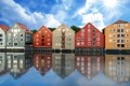 Houses in Trondheim: Trondheim, Norway is one of our HOT training course destinations